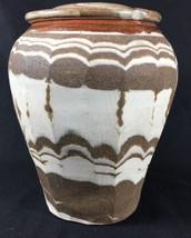 Handmade Stoneware Studio Pottery Art Tribal Co... - $46.74