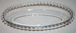 Imperial Glass Candlewick Elegant Clear Pickle Relish Dish #1085 - $20.00
