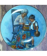 "Sandra Kuck Collector Plate ""Grandma's Cookie Jar"" RECO Collection 1981  - $10.99"