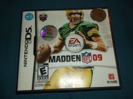 DS - Madden NFL 09 - $16.00