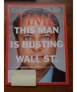 Time Magazine This Man Busting Wall St. Preet B... - $5.00