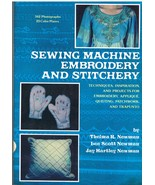 Book of Sewing Machine Embroidery and Stitchery... - $8.99