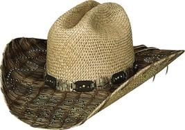 Bullhide By Monte Carlo 2701 Raindrop Kisses Panama Straw Cowgirl Western - $75.00