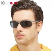 Aluminum Magnesium Alloy Polarized Sunglasses Men Driving Glasses Male F... - $35.72