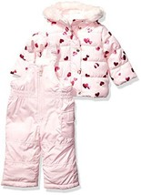 Carter's Baby Girls Heavyweight Jacket and (18  Months|Hearts on Pink Bl... - $88.23