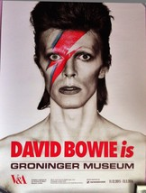 David Bowie is Poster Groningen Museum Germany Aladdin Sane  - $60.00