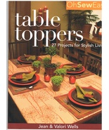 Table Toppers to Sew for Stylish Living Project... - $9.95