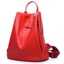 Big Korean College Style PU Leather Backpack Women Backapcks School Bags... - $41.70