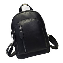 Casual Women Backpack Fashion Travel Candy Pu Backpack Preppy Style Wome... - $53.13