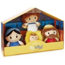Nativity Set Hallmark itty bitty bittys Creche Manger Jesus Mary Joseph ... - £31.79 GBP