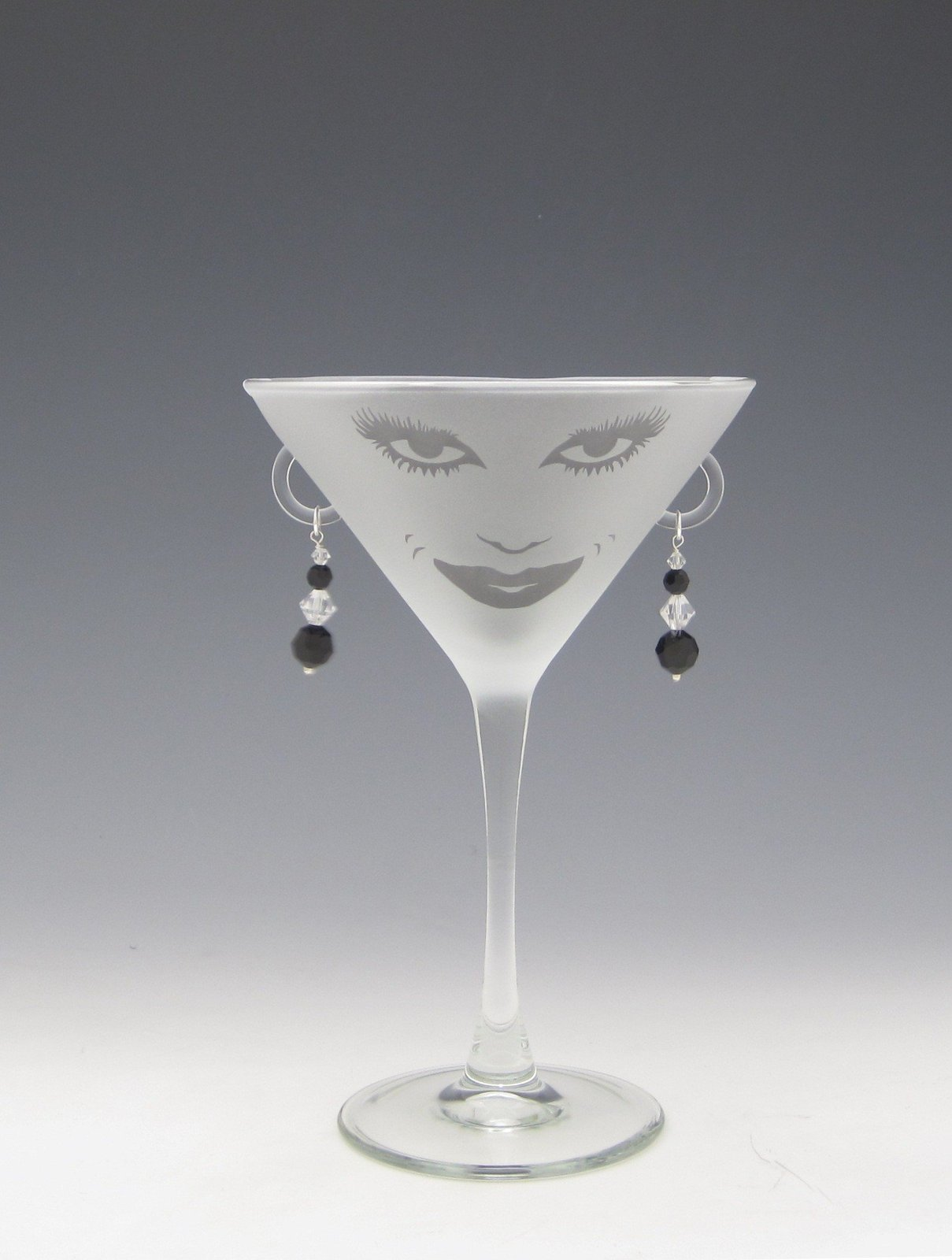 lola etched martini glass by asta glass china dinnerware. Black Bedroom Furniture Sets. Home Design Ideas