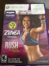 Zumba Fitness Rush (Microsoft Xbox 360, 2012) - $11.87