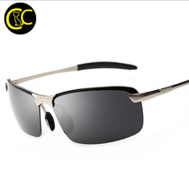 Classic Rectangle Wrap Polarized Sunglasses Man Mens Designer Fashion Dr... - $21.38