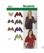 S3921 Misses Boleros and Capelets Sizes 8-10-12-14-16 Simplicity Sewing ... - $5.89