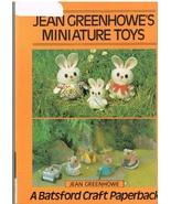 Jean Greenhowe's Miniature Toys Craft Project Book - $8.99