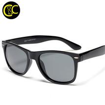 Fashion Classic Square Polarized Sunglasses Men Designer Male Coating Su... - $16.32