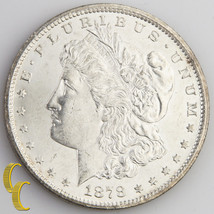 1878-CC Morgan Silver Dollar (Choice Brilliant Uncirculated, Ch-BU) Cars... - $464.31