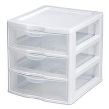 Mini Organizer 3 Drawer Storage Unit Plastic Co... - $26.11