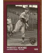 Cincinnati Reds-Pitcher Whitey Moore Baseball C... - $3.50