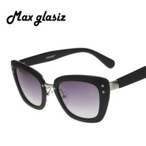 Oversize Cateye Female Geek Sunglasses Designer... - $19.73