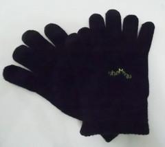 Apollo Unisex Texting Smartphone Gloves Black Knit Stretch One Size Tube... - $155,37 MXN
