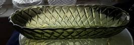 Vintage 1970's Indiana Glass Green Pretzel Patt... - $5.00