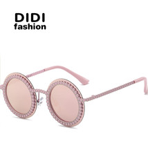 Steampunck Polarized Sunglasses Kids Small Round Hollow Gold Sun Glasses... - $37.18