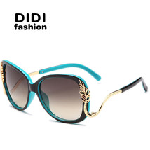 Top Grace Shield Sunglasses Women Ray Gold Leaf Mirror Coating Sun Glass... - $27.14