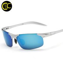 TR90 Ultra Lightweight 100% Polarized Sport Sunglasses Men Driver Drivin... - $20.57