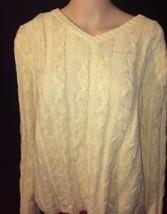 Cherokee Size Large Womens Knit Top Bin #H  - $5.89