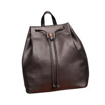 Women Fashion DrawstringTravel Satchel School Bag Backpack Bucket Bag - $17.49