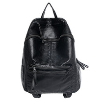 Womens PU Leather Backpack Fashion Soft Waterwash Design mochila feminin... - $41.70