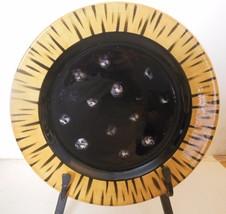 "Vintage Raymond Waites Plate 8.25"" Global Pattern Certified International - $12.00"