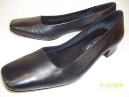 Etienne Aigner Twiggy Womens US 7 M Black Leath... - $19.43
