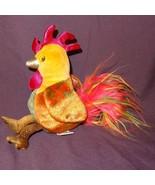 "Rooster Zodiac 2000 Ty  Plush Stuffed Animal 6"" - $8.51"