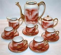 VINTAGE SOHO CHINA Handpainted Porcelain Tea Set M71 - $100.00