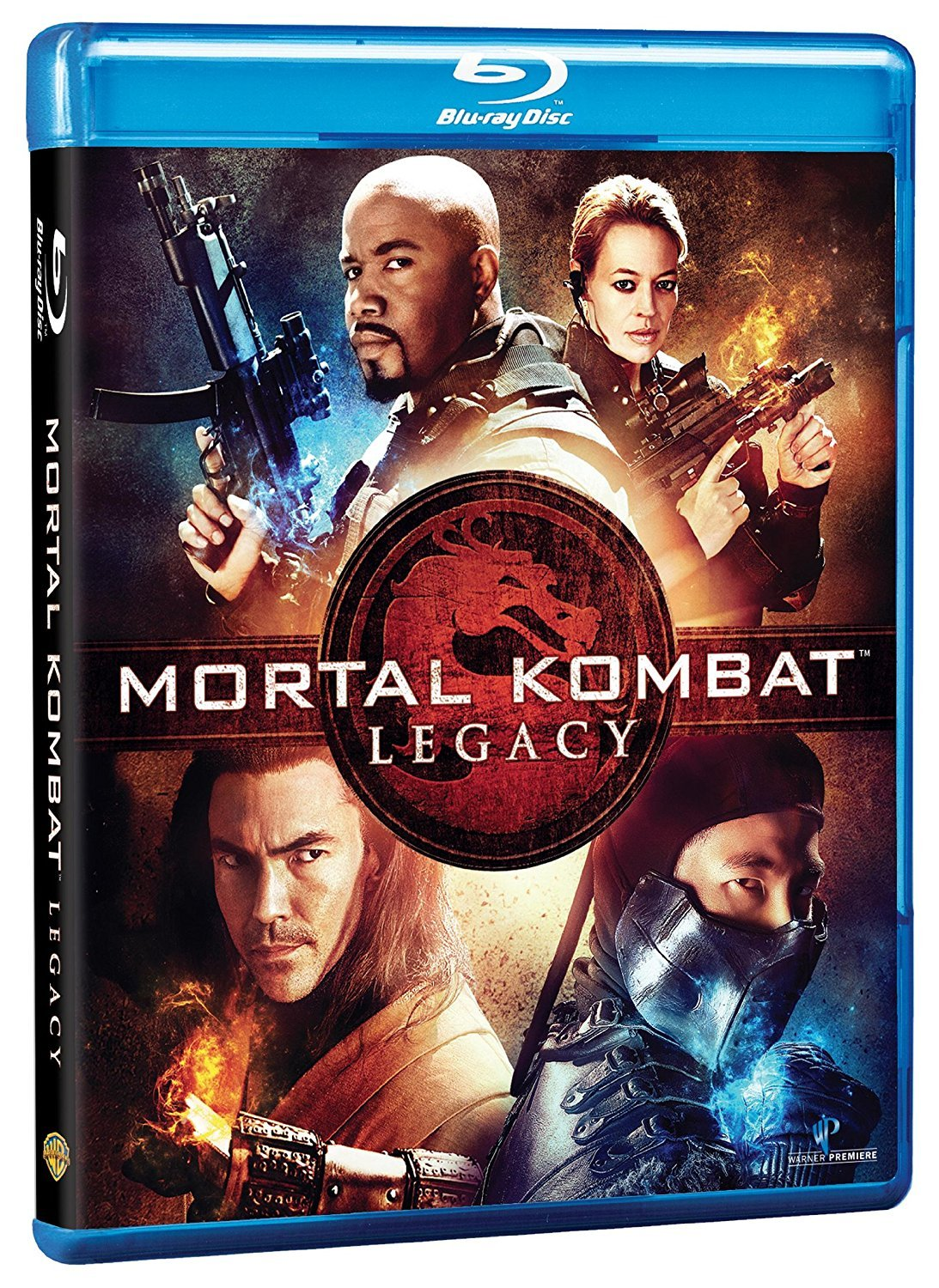 Mortal Kombat: Legacy (Blu-ray Disc, 2011)