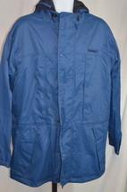 Men's Timberland Weathergear Blue Jacket Size Sz L Large - $79.19