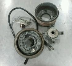 1991 Suzuki Quadrunner LTF 250 4x4 Rear Brake Drum Hub Assembly @BH3 - $92.55