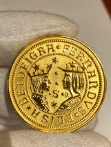 SPAIN 1476 EXCELLENTES ISABEL & FERDINAND PIRATE GOLD COINS TREASURE NEC... - $295.00