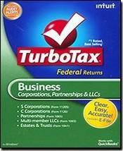 TurboTax 2009 Business Federal + E-File - $98.99