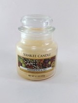 Yankee Candle Mistletoe & Fig Small Jar Candle 3.7 oz  - $10.39