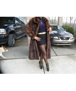 Young Mint Full length Genuine Russian Sable Fur Coat Jacket stroller S-... - $7,424.99