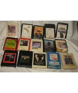 35 Vintage 8-Track Tapes - $85.86