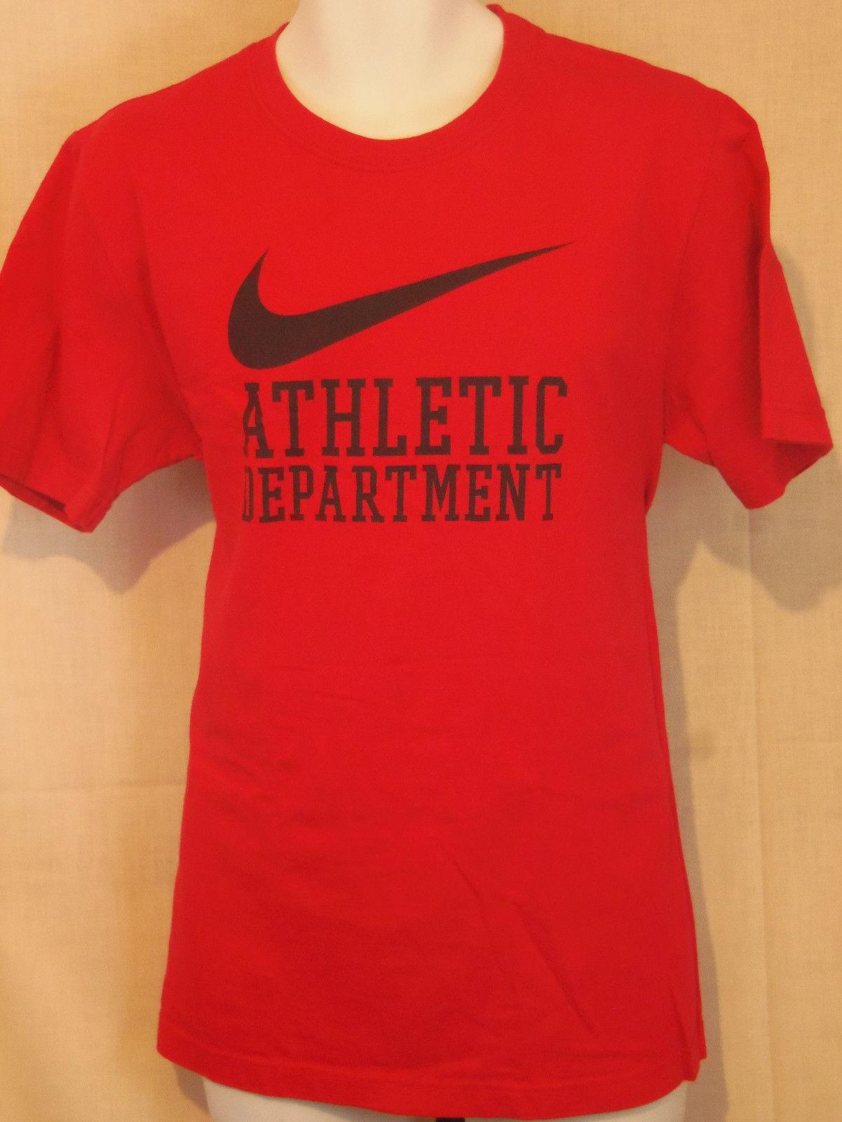 1c9dfc8c nike athletics dept red large L T shirt and 50 similar items. S l1600