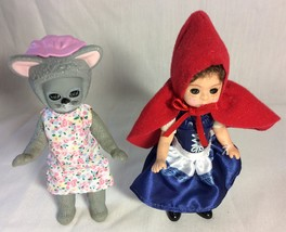 Little Red Riding Hood and Wolf Grandma from Madame Alexander Collection.. - $7.95