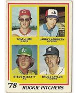 1978 Rookie Pitchers Baseball Card   #701 - $3.95