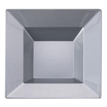 12 Oz. Silver Plastic Square Bowl/Case of 120 - €83,49 EUR