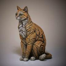 "15"" Sitting Cat Sculpture by Edge Sculpture - Stunning Piece image 3"