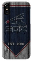 Chicago White Sox Wood Fence iPhone XR, XS, XS Max, X, iPhone 6 7 8 Plus Case - $16.99